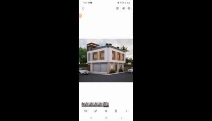 30x30 house frount Elevation design