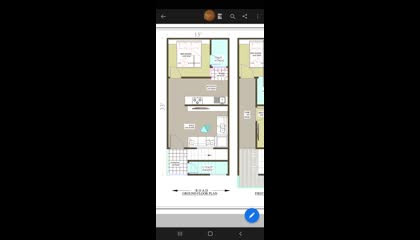 15×30 house design on autocad,