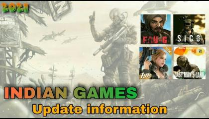 ALL INDIAN GAMES UPDATE INFORMATION  FAU-G  SCARFALL  SICO  HIND WARFARE  LAST MAN'S LAND  VATS GAMER YT