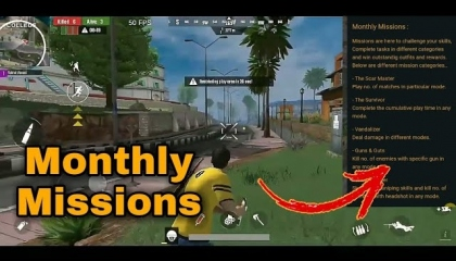 Scarfall monthlymissions detailsmonthly missions in Scarfall  vats gamer yt