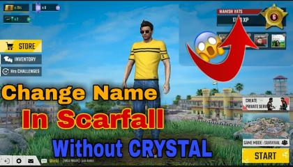 HOW TO CHANGE NAME IN SCARFALL  SCARFALL NEW UPDATE INFORMATION  VATS GAMER YT