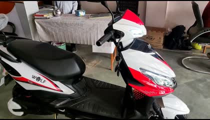 Rs. 10 में 100 km  Joy e bike  wolf electric scooter
