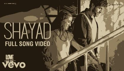 Shayad video song from Love Aaj kal movie .