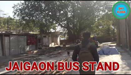 Jaigaon bus station , West Bengal, India
