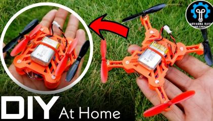 DIY  3D PRINTED FOLDABLE DRONE AT HOME  3d प्रिंटर से फोल्डेबल ड्रोन बनाया  only on A-To-Play