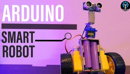 ARDUINO ROBOT  DIY BY ME  मैंने ARDUINO ROBOT बनाया