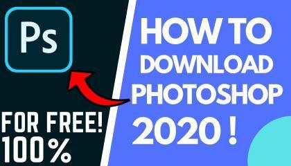 HOW TO DOWNLOAD PHOTOSHOP 2020 FOR FREE फोटोशॉप  2020 डाउनलोड कैसे करे?