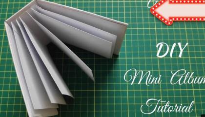 DIY Mini Scrapbook Album Base
