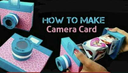 DIY Camera card Tutorial