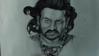 Drawing Bahubali