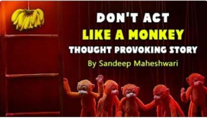 Don't Act Like A Monkey - By Sandeep Maheshwari  Motivational Video