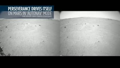 Perseverance Rover on AutoNav