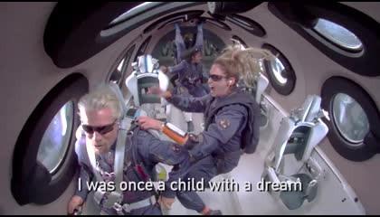 रिचर्ड ब्रैनसन स्पेस ट्रैवल