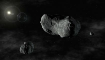 Dog Bone asteroid