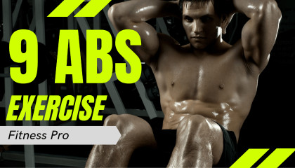 9 ABS EXERCISES for SIX PACK