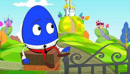Humpty Dumpty Sat On A Wall  Nursery Rhyme For Children