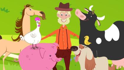 Old Macdonald Had A Farm  Kindergarten Nursery Rhymes