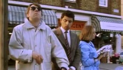 Bus Stop  Special Scene  Classic Mr Bean