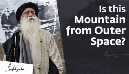 Is this Mountain from Outer Space? - Sadhguru