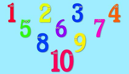 Ten Little Numbers  Learning Videos For Children  Preschool Rhymes