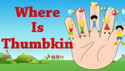 Where is Thumbkin  Nursery Rhyme For Babies  Videos For Kids