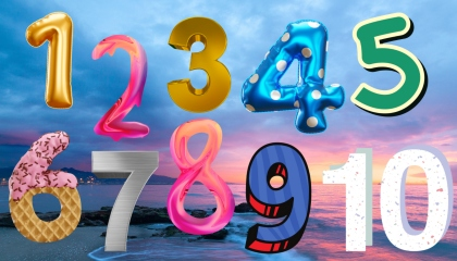 Ten Little Numbers  Learning Videos For Babies  Preschool Rhymes