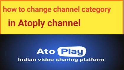 How to change channel categor