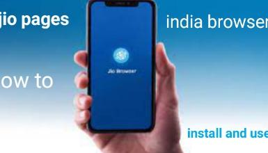 jio pages