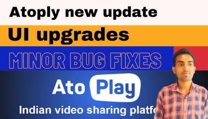 Atoply new update UI upgrades