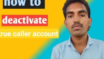how to deactivate truecaller account