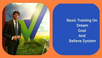 Importance of Dream,Goal and Believe System Training by Mr.Jitendra Kumar Part -1.