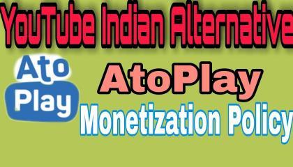 Atoplay Monetization Policy