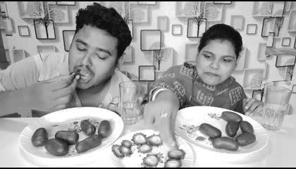 sweet vs bitter eating challenge...lancha eating challenge..