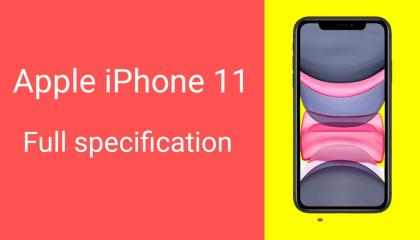 Apple iPhone 11/full specification