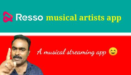Resso musical artists app