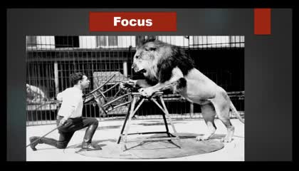 Focus is the key to success  Best motivation for aspirants