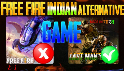 Free fire Indian alternative game  faug  nCORE yt  Indian game  last man's land