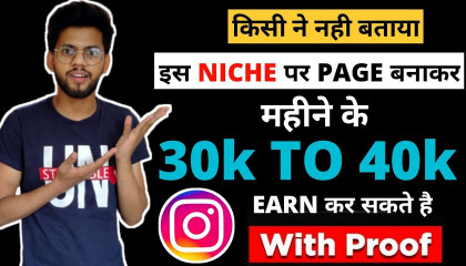 Earn 30k to 40k Per Month From Instagram (Only For Students) _ Instagram Se Paise Kaise Kamaye 2021