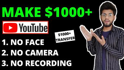 Earn $1000+ Monthly From Youtube Without Making Videos(Make Money Online) _ Youtube Se Paise Kamaye