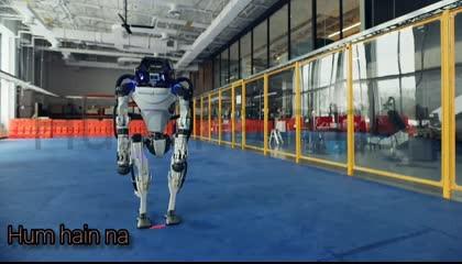 robot dance ,robot video,hum hain na