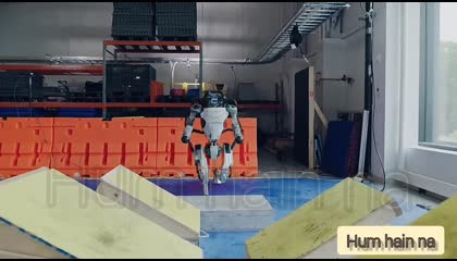 robot practice for walking