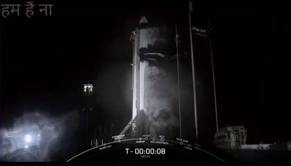 rocket launching nasa