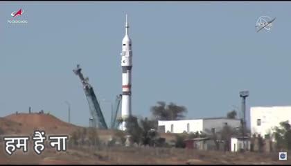 दुनिया का पहला रॉकेट लॉन्चिंग actors के साथ