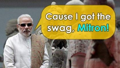 Modiji Thug Life 🔥 Savage Moments Savage Reply  Thug Mask