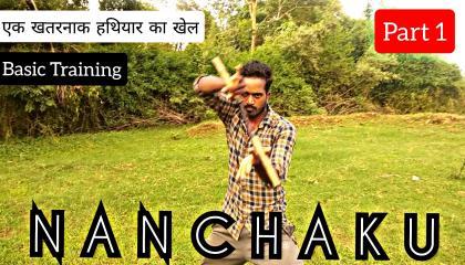 Learn Nunchaku l नानचाकू सीखें l Nunchucks l How to do l in hindi
