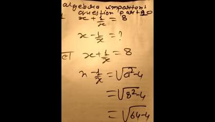algebra important question part 10