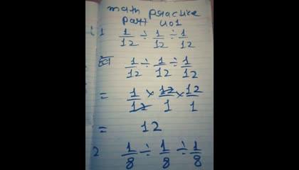 math practice part 401