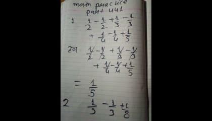 math practice part 441