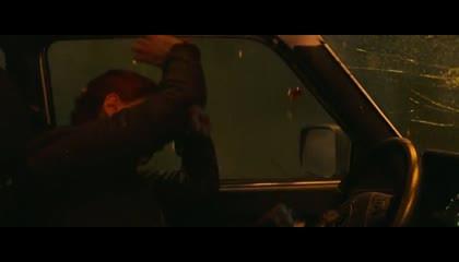 Black widow's fight scene
