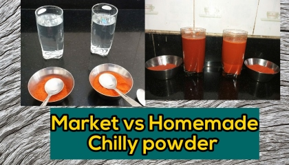 How to cheack qulity of chilly powder